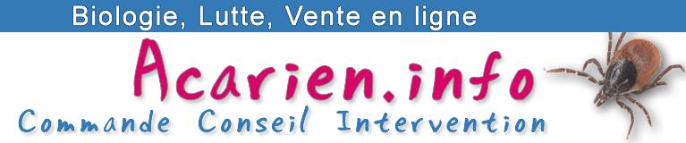Acarien.info, produits de lutte contre les acariens
